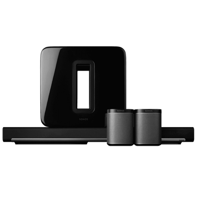 SONOS 5.1 Surround Sound System | TV mounting and Speaker Installation service in Northern Virginia