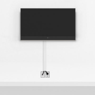 Silver TV Mount Large | TV mounting and Speaker Installation service in Northern Virginia