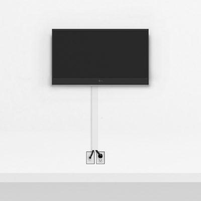 Silver TV Mount Medium | TV mounting and Speaker Installation service in Northern Virginia