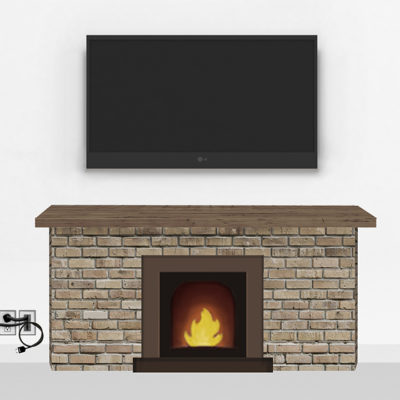 Gold Fireplace Mount Large | TV mounting and Speaker Installation service in Northern Virginia