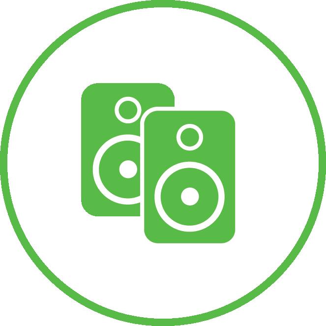 2 speaker icon | Speaker Installation Service
