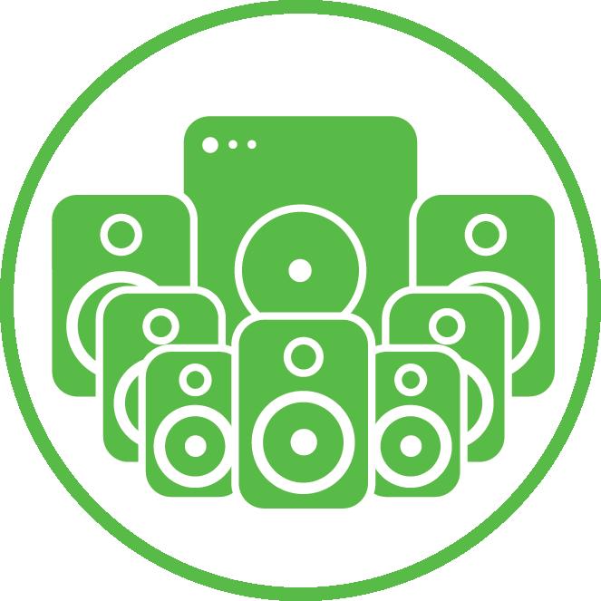 Home Theater Installation | Surround sound installation service | Surround sound installation service icon