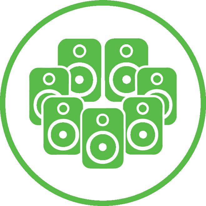 7 speaker icon | Speaker Installation Services