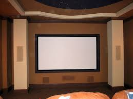 Projector screen mounting service | Fixed Screen