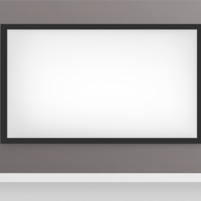 Fixed projector screen Installation | Projector screen installation